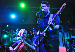 Choir of Young Believers - Choir of Young Believers performing at SXSW 2012 in Austin, Texas