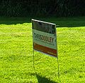 Chris Dudley for governor lawn sign.JPG