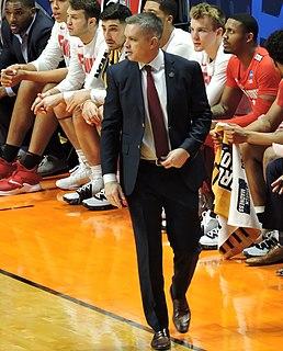 Chris Holtmann American basketball coach