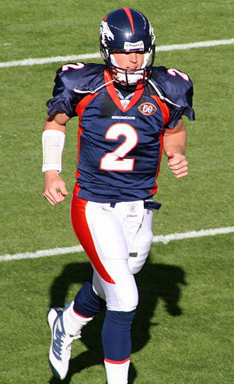 Chris Simms - Simms with the Broncos in November 2009