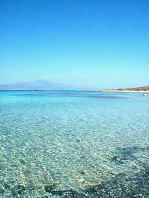 Chrysi (island) - Golden coast