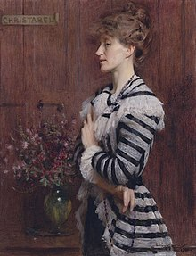 Christabel Cockerell, lady Frampton by Arthur Hacker (1858-1919).jpg
