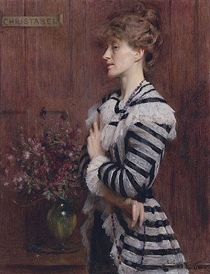 Christabel Cockerell - Christabel Cockerell, Lady Frampton, by Arthur Hacker
