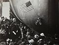 Christening of USS Enterprise (CV-6) at Newport News in 1936.jpg