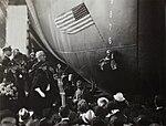 Christening of USS Enterprise (CV-6) at Newport News in 1936.jpg