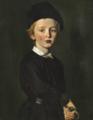 Christian Albrecht Jensen - Portræt af kunstnerens søn Peter - ca. 1846.png