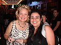 Christine Ebersole and our new friend.jpg
