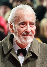 Christopher Lee vid Filmfestivalen i Berlin 2013.