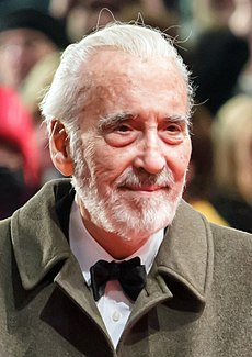 Christopher Lee 2013-ban
