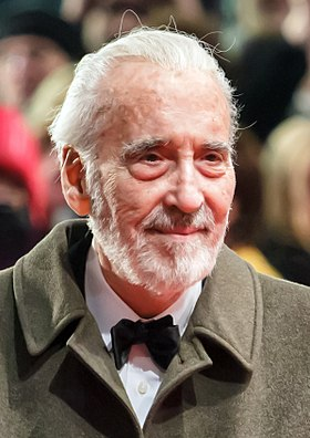 Christopher Lee at the Berlin International Film Festival 2013.jpg