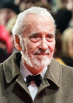 Saruman - Christopher Lee plays Saruman in ''The Lord of the Rings'' and ''The Hobbit''