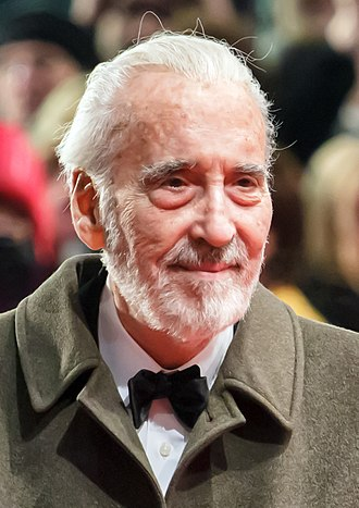 Christopher Lee - Lee at the Berlin Film Festival in February 2013.