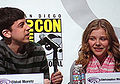 Christopher Mintz-Plasse & Chloë Moretz at WonderCon 2010 1.JPG