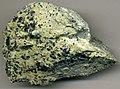 Chromitic talcose serpentinite (Shetland Ophiolite Complex, ~425-500 Ma; Unst, Shetland Islands, North Sea) (14819238911).jpg