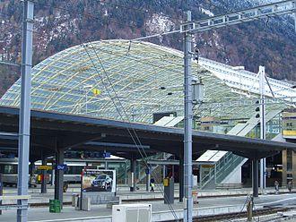 Chur railway station - Chur station platforms