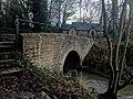 Church Lane Bridge, Church Lane, Pleasley Vale, Nottinghamshire (2).jpg