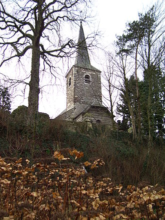 Chaumont-Gistoux - Image: Church of Chaumont