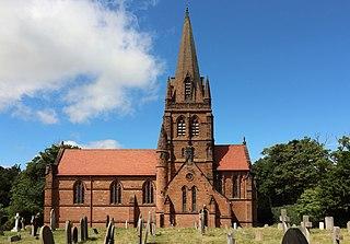St Bartholomews Church, Thurstaston Church in Merseyside, England