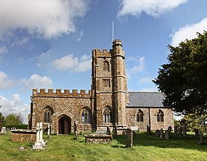 Kingstone, Somerset - Church of St John the Evangelist and All Saints