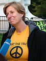 Cindy Sheehan yellow t-shirt.jpg