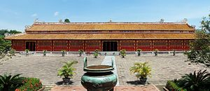 Thế Miếu - Thế Miếu temple in the Imperial City, Huế