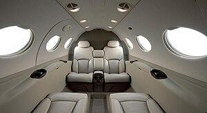 Cessna Citation Mustang - Cabin interior