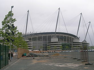 Etihad Campus - Empty land surrounding the stadium has been envisaged for development since 2002.