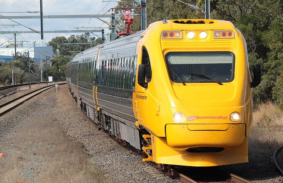 City of Rockhampton train (Sunshine railway station, Brisbane)