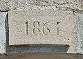 Clé de linteau, datée de 1864. Courchaton. (2).jpg