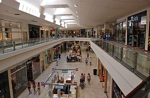 Clackamas Town Center - Interior view in 2011