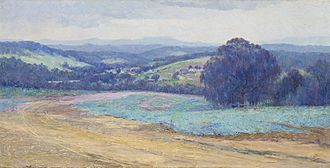 Clara Southern - The Road to Warrandyte, 1905