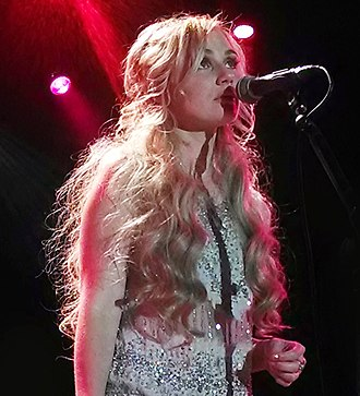 Nashville (2012 TV series) - Clare Bowen at the stage in May 2014 during Nashville cast tour
