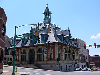 Clarksville, Tennessee - Clarksville Museum and Cultural Center, built 1898
