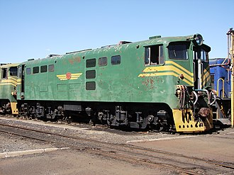 South African Class 5E1, Series 2 - Image: Class 5E1 E 613