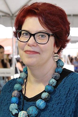 Claudia Gray - Gray at the 2017 Texas Book Festival
