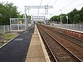 Cleland railway station, Lanarkshire (geograph 6176314).jpg