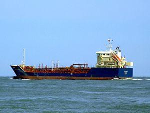 Clipper Nadja p3 leaving Port of Rotterdam, Holland 08-Jul-2007.jpg