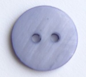 Shank (sewing) - A button without a shank.  A thread shank is required to properly sew this type of button onto a garment.