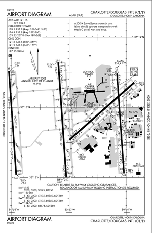 Airport diagram originally from the United Sta...