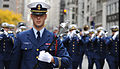 Coast Guard Cadet Christopher Salinas marches down 5th Ave.jpg