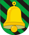 Coat of Arms of Buda-Kašalova, Belarus.png