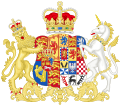 Coat of Arms of Caroline of Brunswick.svg