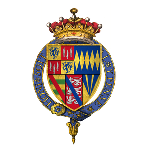 Henry Percy, 5th Earl of Northumberland - Arms of Sir Henry Algernon Percy, 5th Earl of Northumberland, KG
