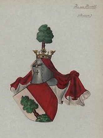 Ulrich von Hassell - Coat of arms von Hassell c. 15th century