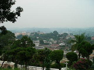 Cobán Place in Alta Verapaz, Guatemala