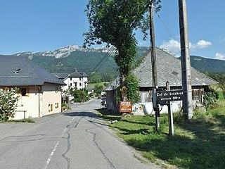 Leschaux Commune in Auvergne-Rhône-Alpes, France