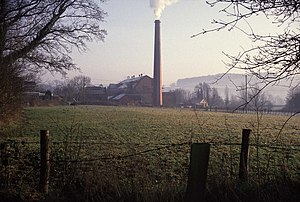 Uffculme - Image: Coldharbour Mill, Uffculme geograph.org.uk 331002