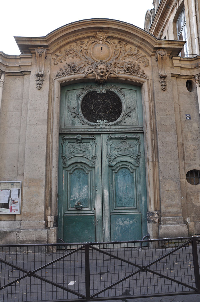 Coll ge pierre jean de b ranger et immeuble contig monument historique paris 03 myopenweek for Porte entree solde