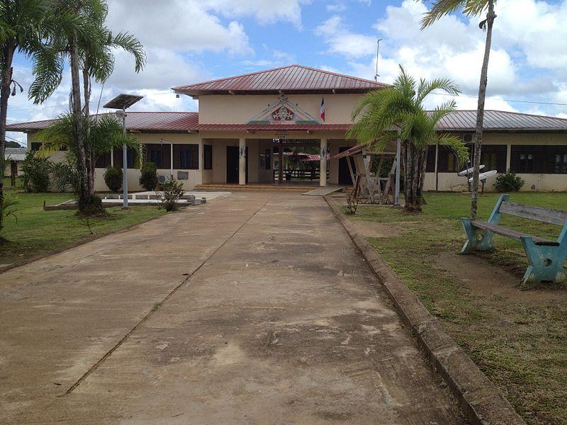 Collège du Grand Man Difou à Maripasoula