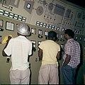 Collectie Nationaal Museum van Wereldculturen TM-20029844 Controlekamer van de elektrisch centrale van 's Landswatervoorziening Curacao Boy Lawson (Fotograaf).jpg
